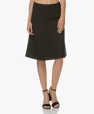 Filippa K A-line Skirt - Black