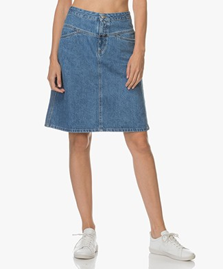 Closed Susie Denim Skirt - Vintage blue