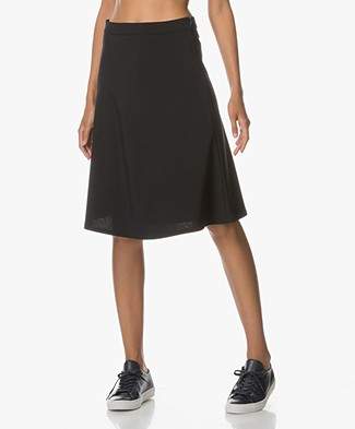 Filippa K A-line Skirt - Navy