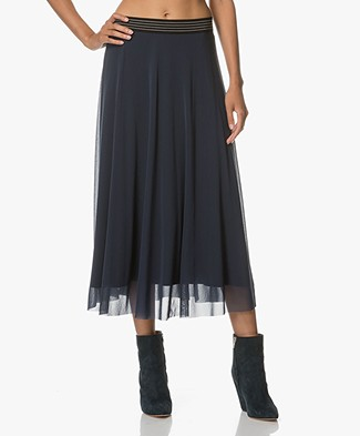 no man's land Midi Skirt - Seamoss