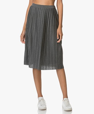 BOSS Orange Tabell Pleated Skirt - Medium Grey