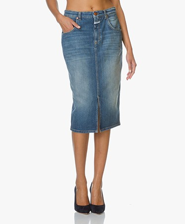 Closed Denim Pencil Skirt Coco - Special Used - coco | c93117 05x ...