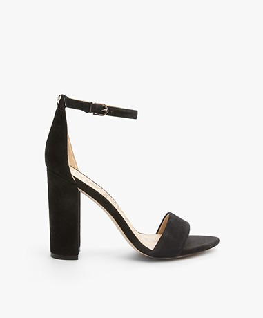Sam Edelman Yaro Heeled Sandals - Black