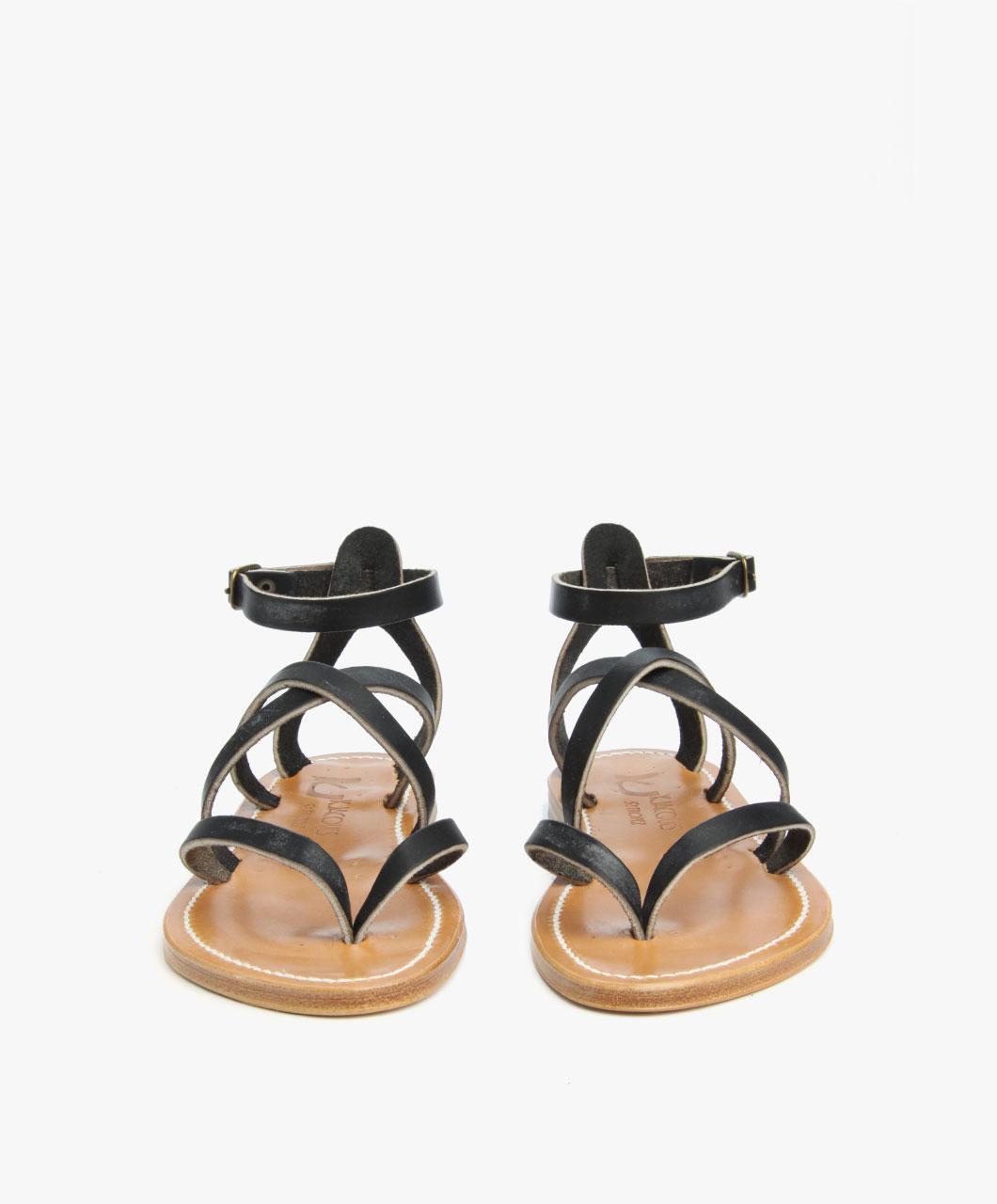 d7b2ae9976a5 K. Jacques St. Tropez Epicure Leather Sandals - Black - K. Jacques ...