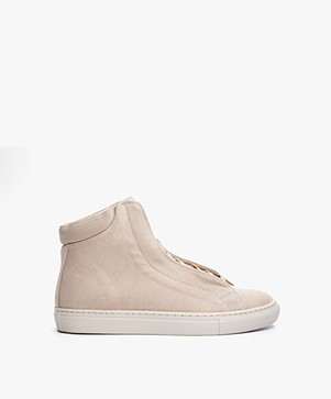 Filippa K High Sneakers - Sand Suede