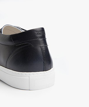 Closed Classic Leather Sneakers - Indigo Blue