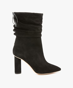 IRO Socky Suede Boots - Black