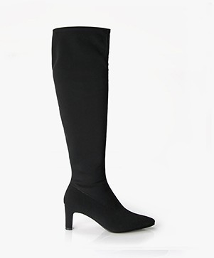 Panara Knee-high Boots - Black