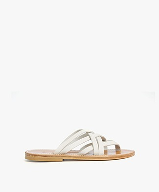 K. Jacques St. Tropez Pantheon Sandals - Linen