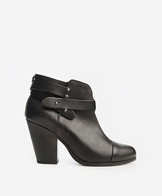 Rag & Bone Harrow Ankle Boots - Black