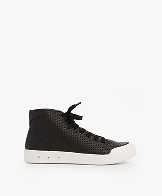 Rag & Bone Standard Issue High Top Sneaker - Zwart