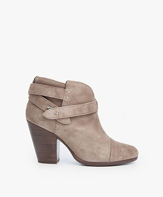Rag & Bone Harrow Ankle Boots - Warm Grey
