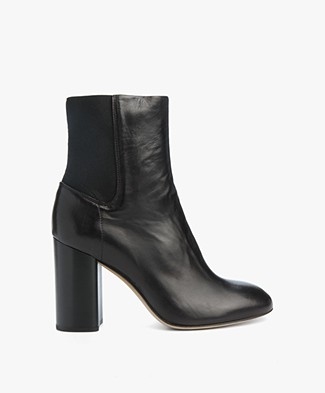 Rag & Bone Agnes Leather Boots - Black