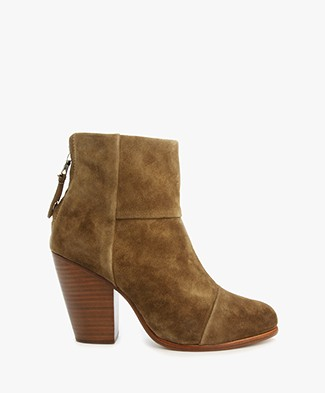 Rag & Bone Classic Newbury Ankle Boots - Mineral Suede