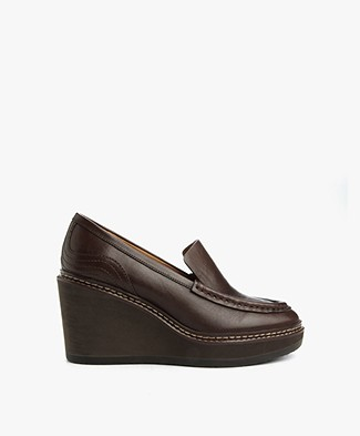 See by Chloé Vegetal Wedges - Dark Brown
