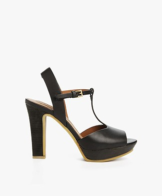 See by Chloé Sandals with Heel Alex - Black