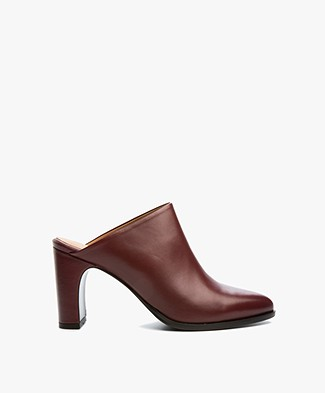 Filippa K Lora High Mule - Burgundy