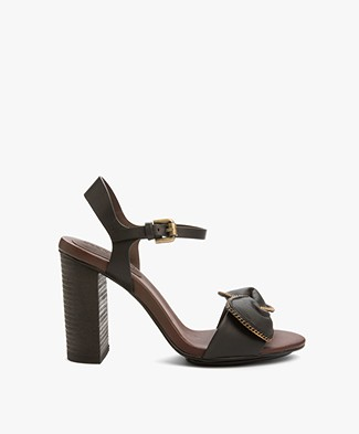 See by Chloé Clara Sandals with Heels - Black
