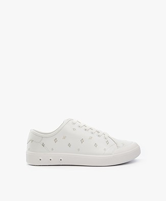 Rag & Bone Standard Issue Lace Up Sneakers - White