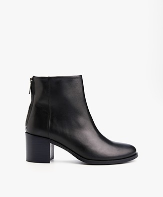 Filippa K Nicky Zip Boot - Navy