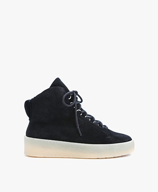 Filippa K Anna Warm High Top Sneakers - Black