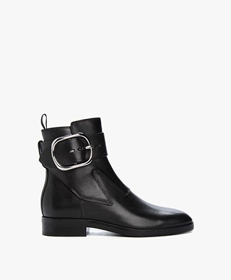 Alexander Wang Bara Ankle Boots with Buckle