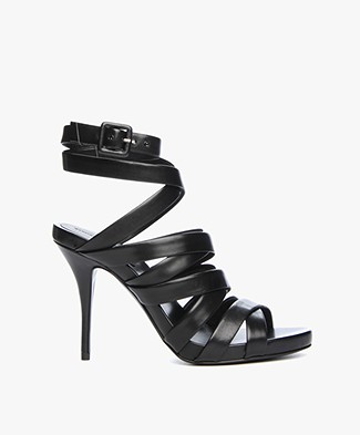 Alexander Wang Nora Strappy Sandals - Black