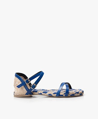Castañer Judy Sandalen - Electric Blue