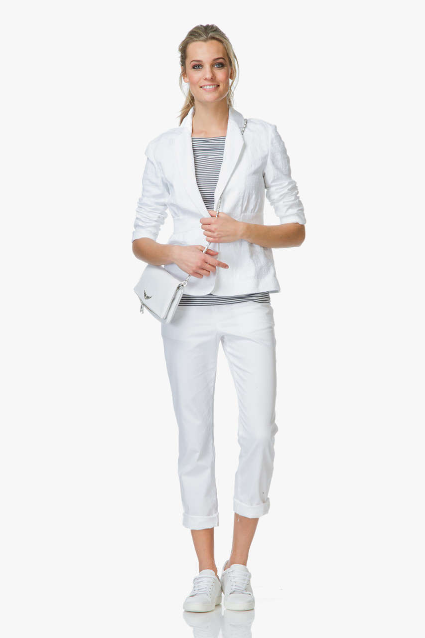 Shop the look stijlvolle en cleane set perfectly basics for Nu trend cleaners