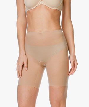 SPANX® Skinny Britches Mid-Thigh Short - Naked