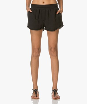 T by Alexander Wang Soft French Gym Shorts