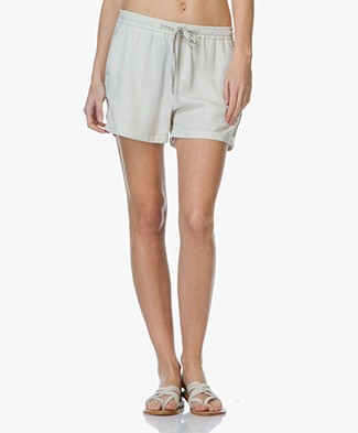 Charli Adaline Tencel Shorts - Bone