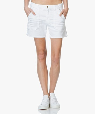 Ba&sh Selby Katoenen Denim Short