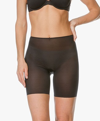 SPANX® Skinny Britches Mid-Thigh Short - Black