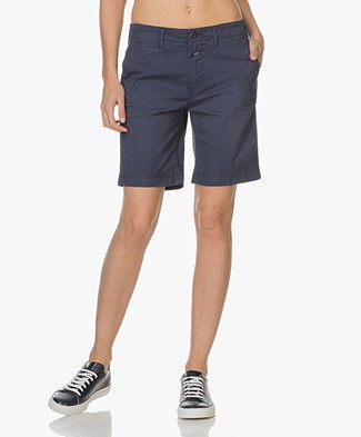 Closed Cotton Shorts - Indigo Blue