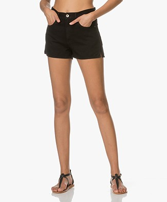Rag & Bone Justine Denim Shorts - Black