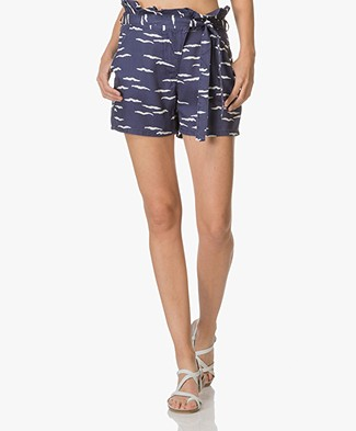 Marie Sixtine Bastian High-waist Shorts - Waves