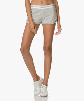 Calvin Klein Modern Cotton Shorts - Light Grey