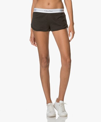 Calvin Klein Modern Cotton Shorts - Black
