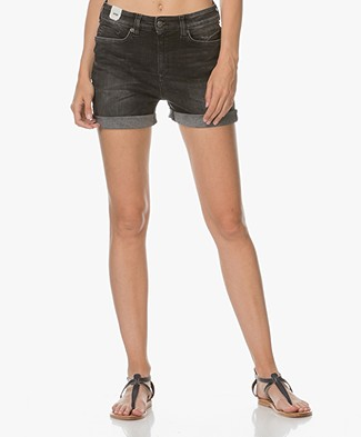 Drykorn Midnight Denim Short - Antraciet