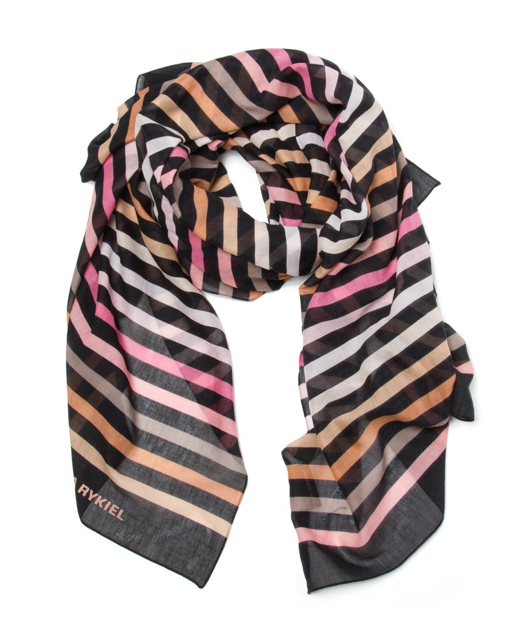 Sonia Rykiel long striped scarf Cheap Websites MneoHYF