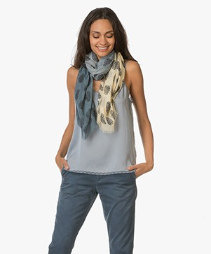 Zadig et Voltaire Faded Scarf Kerry