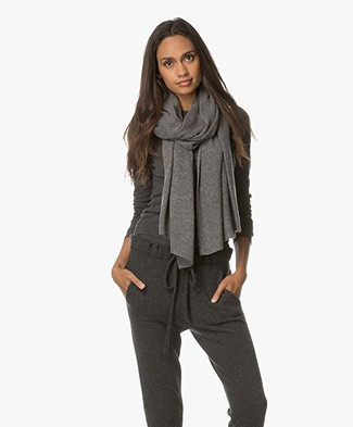 Repeat Cashmere Scarf - Med Grey