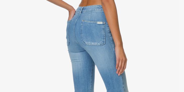 a624f8e5e09 In een goede jeans zit een beetje stretch, dit zorgt ervoor dat de broek  perfect om je lichaam valt.