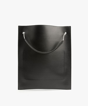 Filippa K Paper Thin Tote Bag - Zwart
