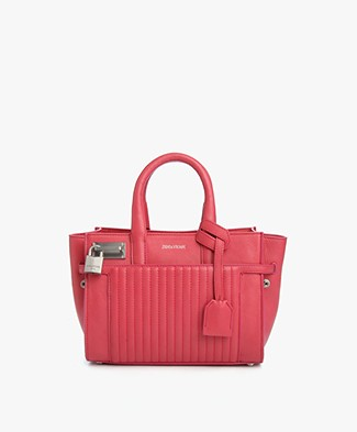 Zadig et Voltaire XS Candide Leather Bag - Rose