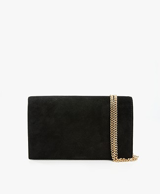 Diane von Furstenberg Soiree Crossbody Bag - Black/Dark Blue/White
