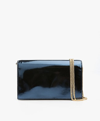 Diane von Furstenberg Soiree Cross-body Tas - Midnight Blue