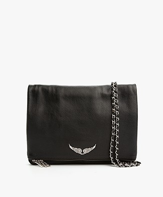 Zadig et Voltaire Rock XL Shoulder Bag/Clutch - Black