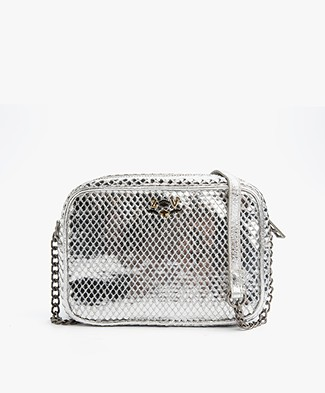 Zadig et Voltaire XS Boxy Keith Tas - Argent